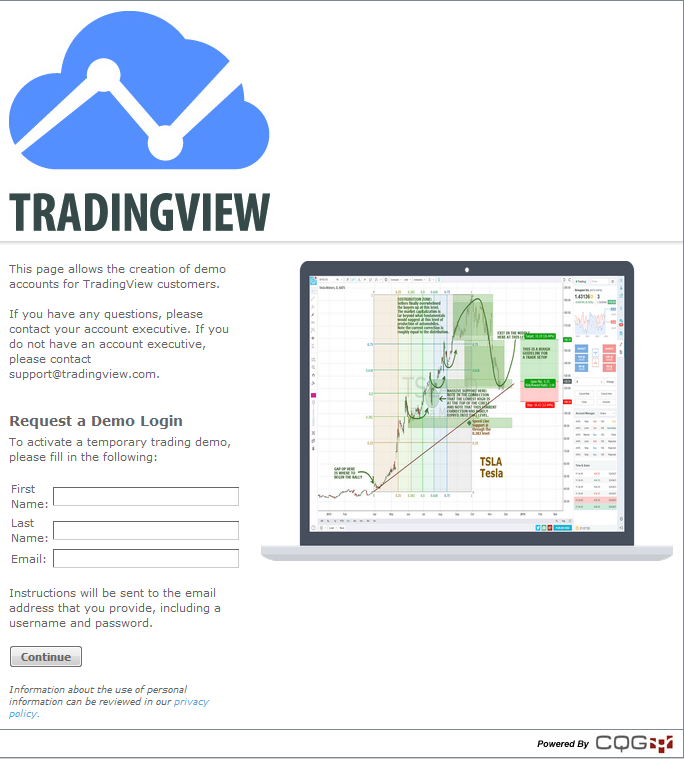Free demo trading account with a forex company