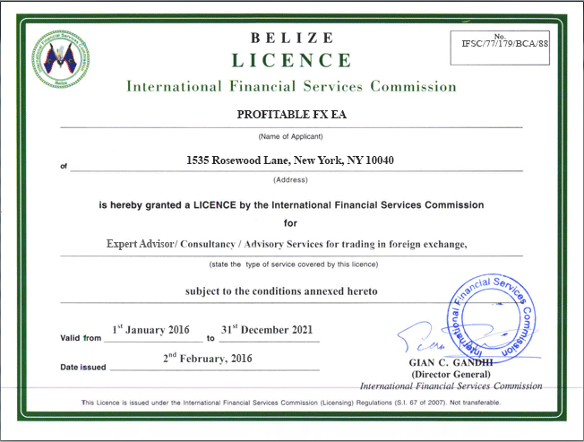 Ifsc forex regulation