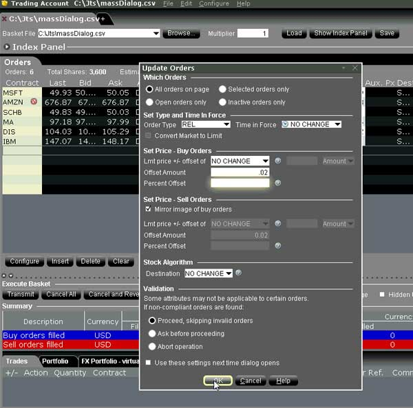Interactive brokers options commission schedule