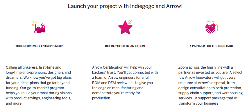 Indiegogo crowdfunding campaigns get $1 mln support from