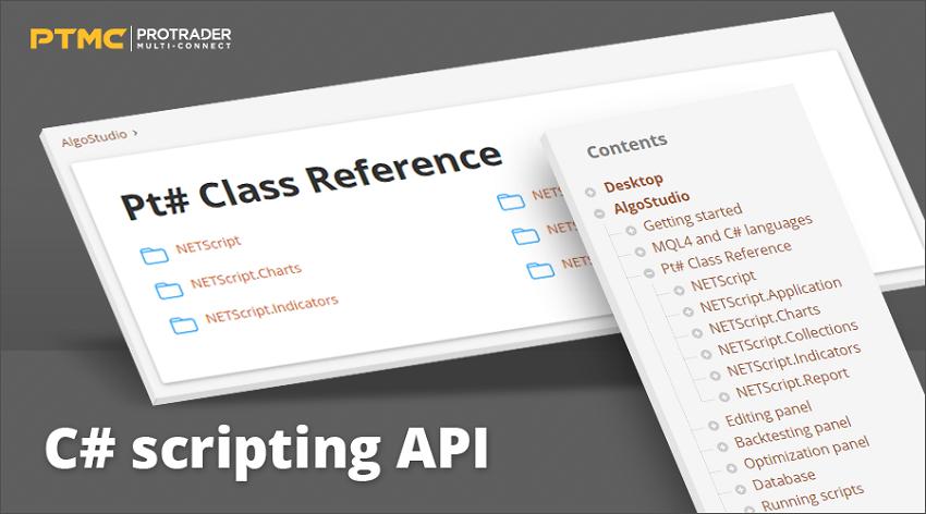 Trading platform PTMC adds C# API scripting for quantitative