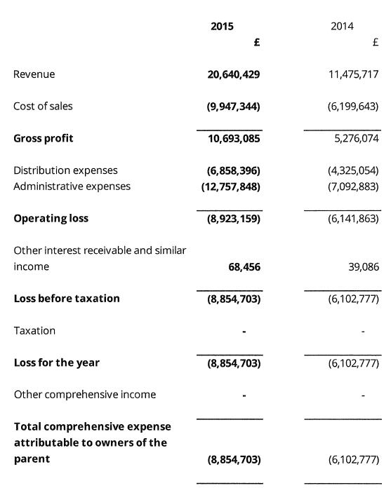Zopa 2015 fin report