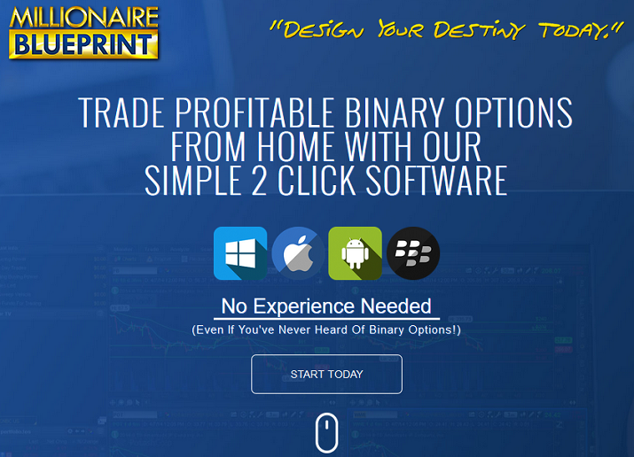 Millionaire Blueprint is a binary options trading bot.