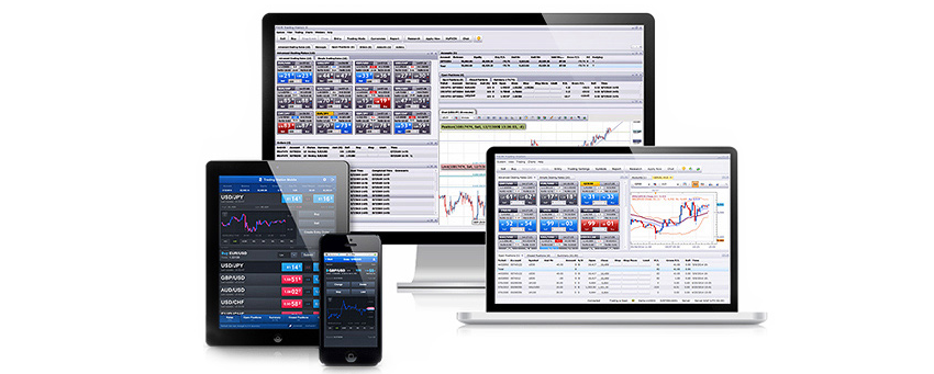 FXCM also has an in-house trading platform Trading Station available across multiple devices.