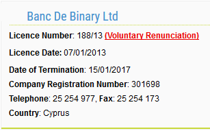 banc-de-binary-cysec-license-lapse