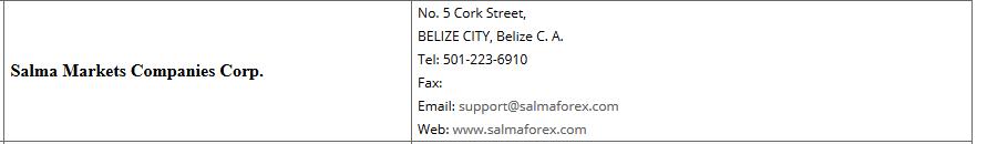 IFSC SalmaMarkets