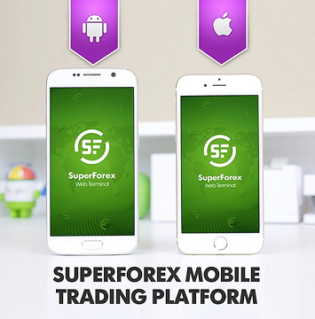 SuperForex mobile platform