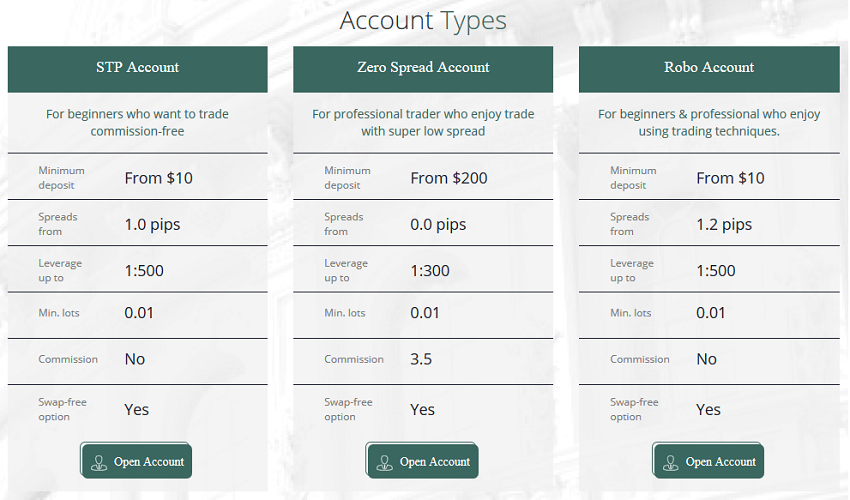 Marrison Capital accounts